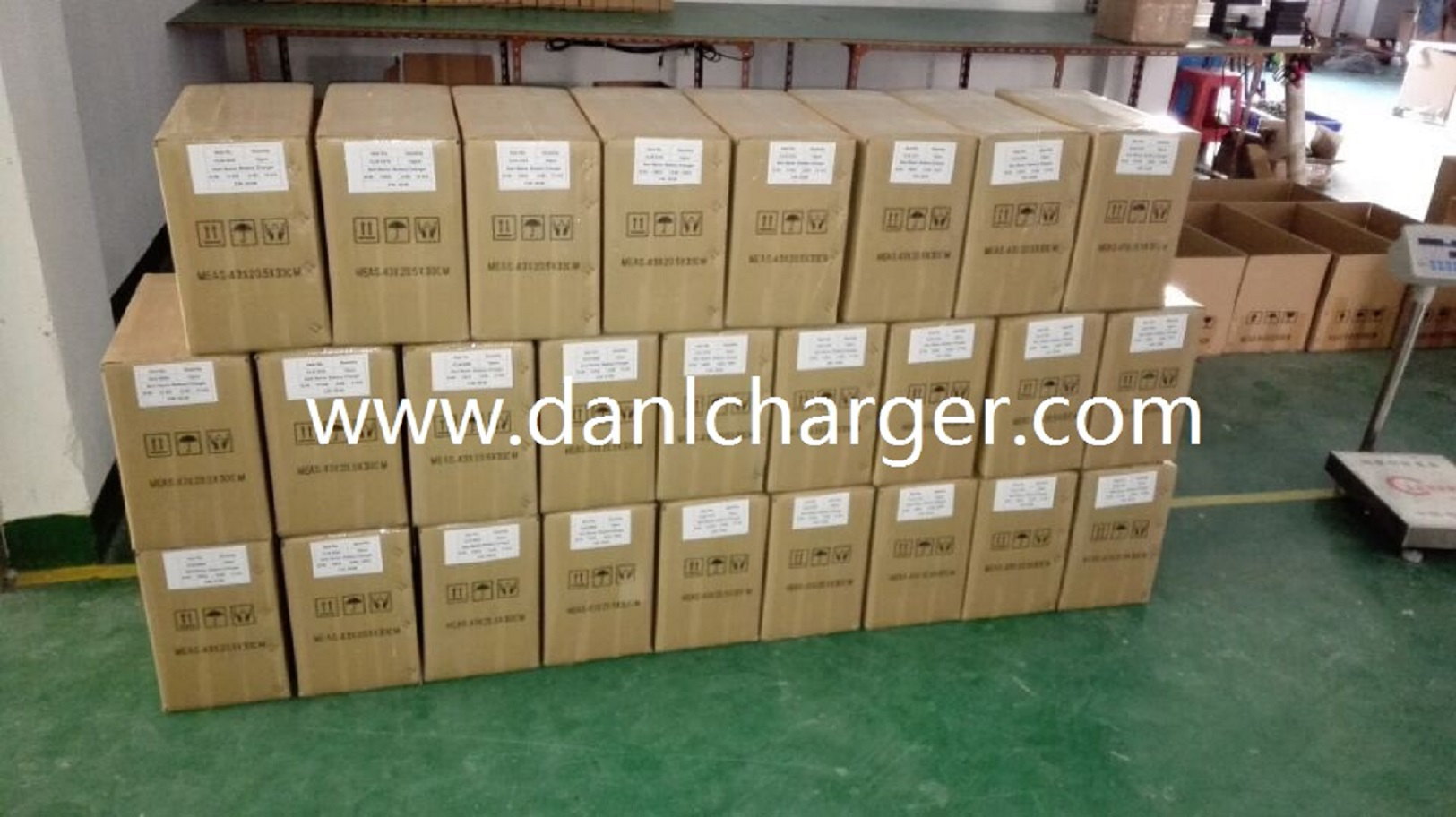 Hundreds Lithium Battery Chargers Were Sent To Italy